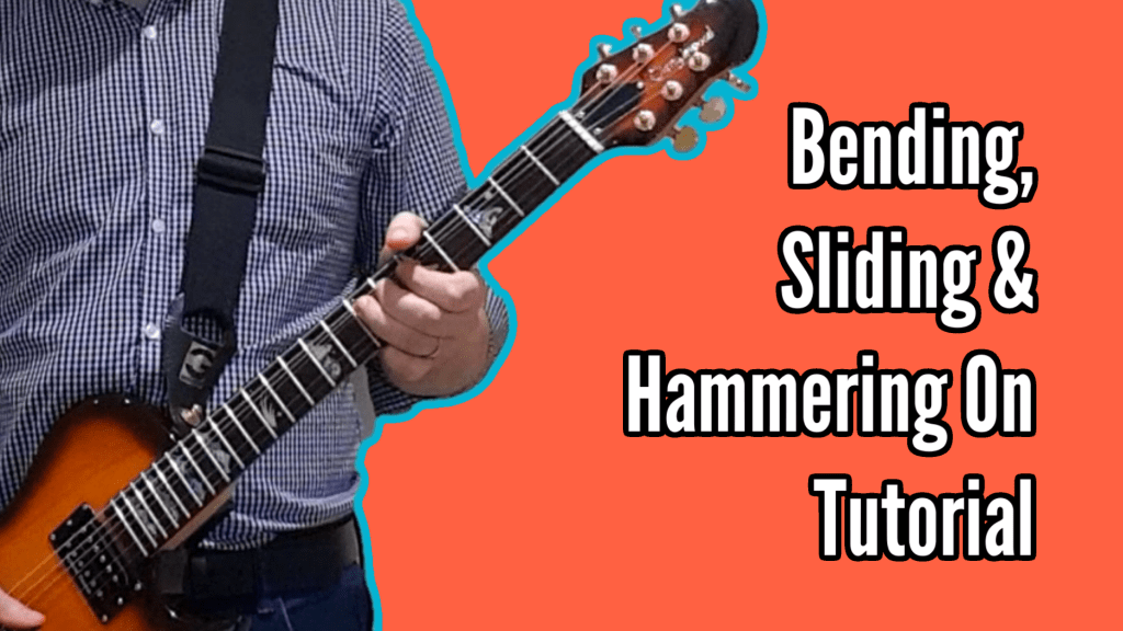 Bending, Sliding and Hammering On Tutorial - and a New Cover of Sound of Silence 1