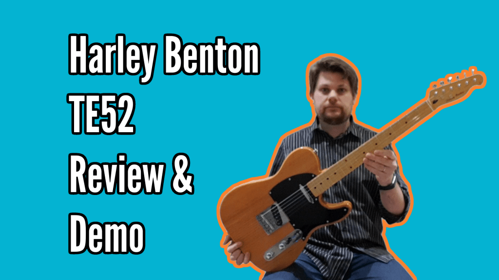 Harley Benton TE52 NA Review and Demo 1