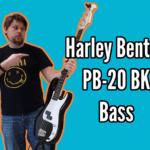 Harley Benton PB-20 BK Bass Demo And Review