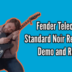 Fender Telecaster Standard Noir Redline Demo And Review