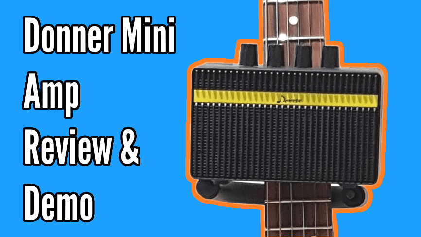Donner Mini Rechargeable Amp Review And Demo 1