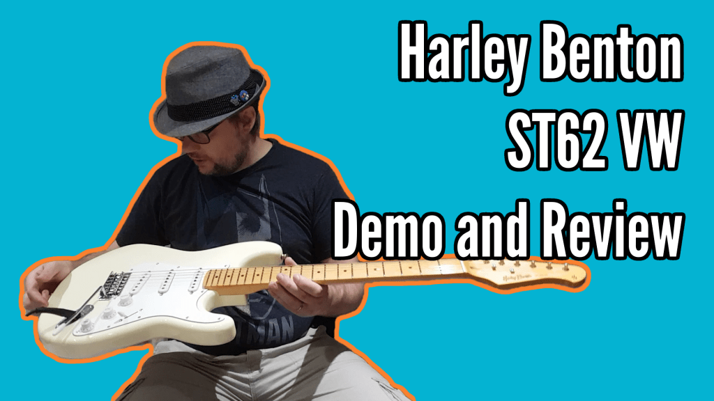 Harley Benton ST62 Vintage White Review 1
