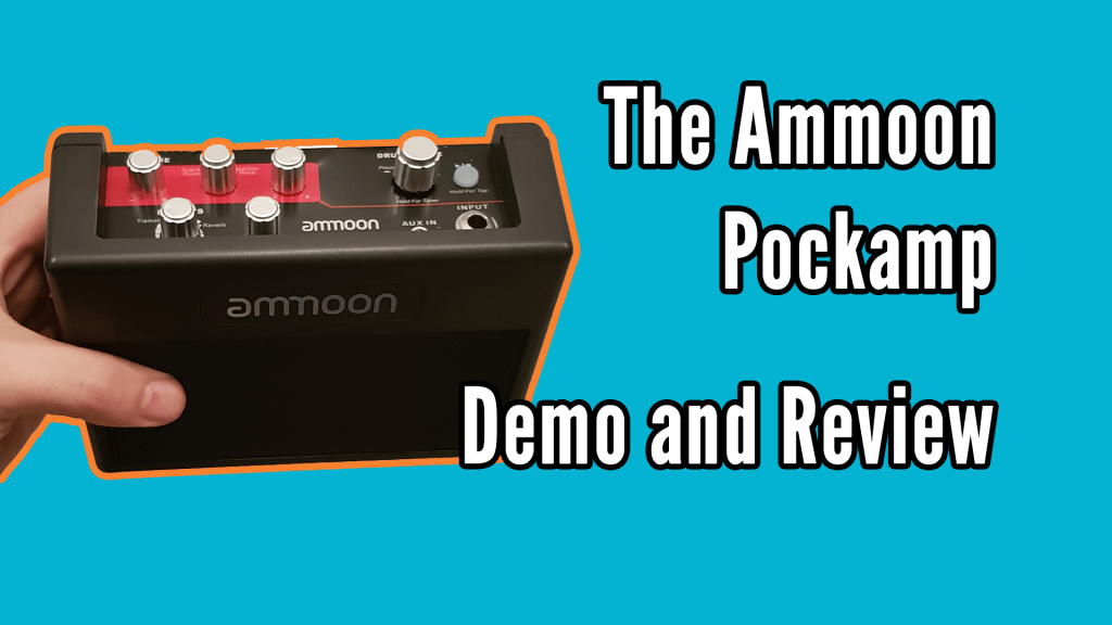Ammoon PockAmp Demo and Review 1