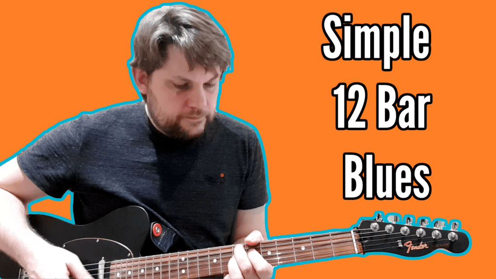 Simple 12 Bar Blues Tutorial (and backing track) 1