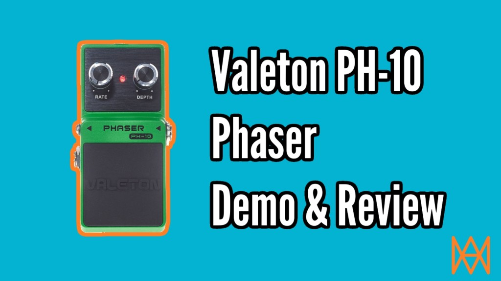 Valeton PH-10 Phaser Review and Demo 1