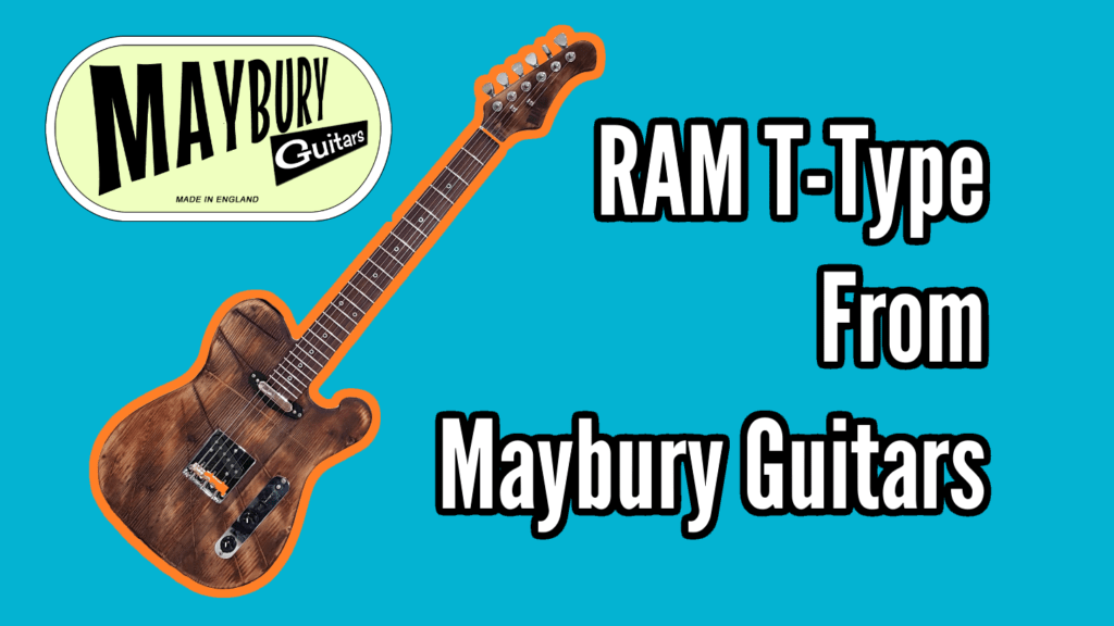 Custom Built RAM T-Type upcycled guitar from Maybury Guitars 1