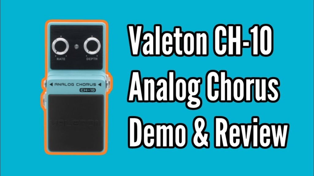 Valeton Ch-10 Chorus Pedal Demo & Review 1