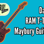 Dante - Boutique Telecaster from Maybury Guitars