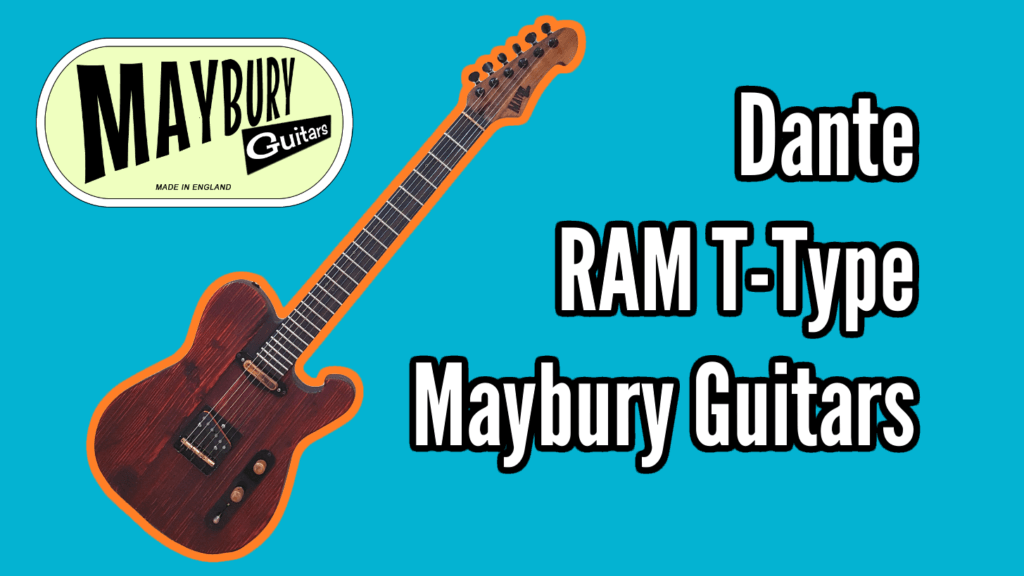 Dante - Boutique Telecaster from Maybury Guitars 1