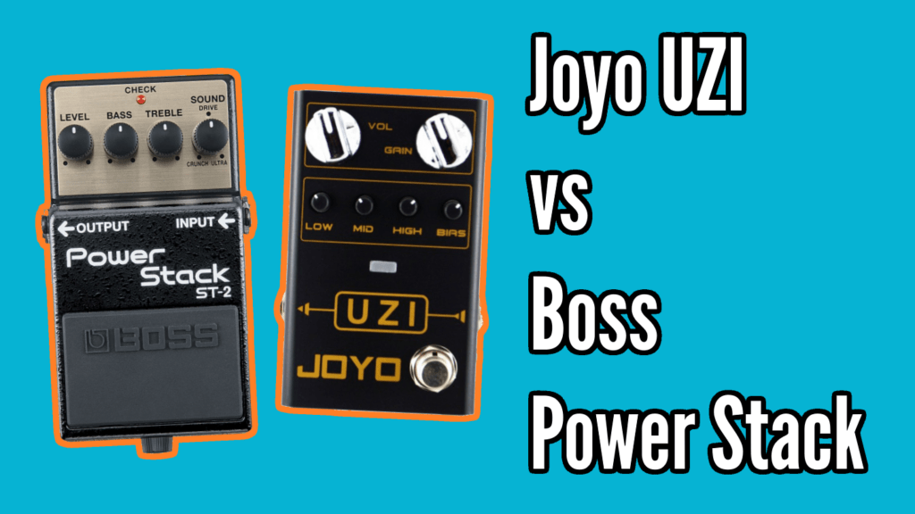 Boss Power Stack vs Joyo Uzi 1