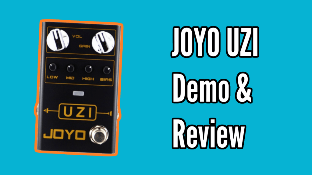 JOYO UZI Demo & Review 1