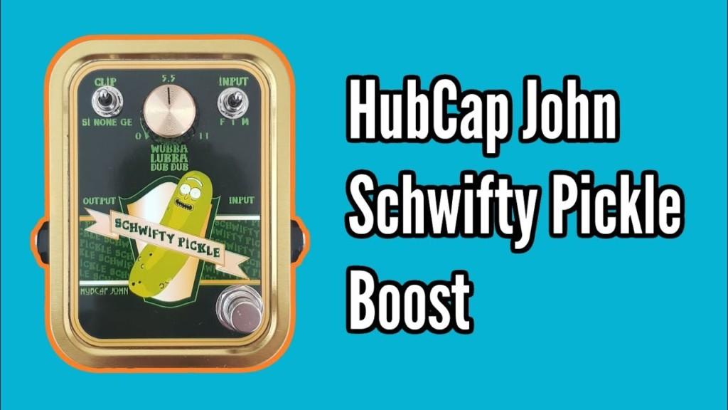 HubCap John Schwifty Pickle Boost 1