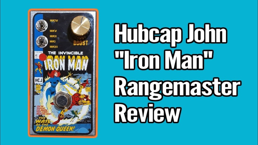 Iron Man Rangemaster from Hubcap John 1
