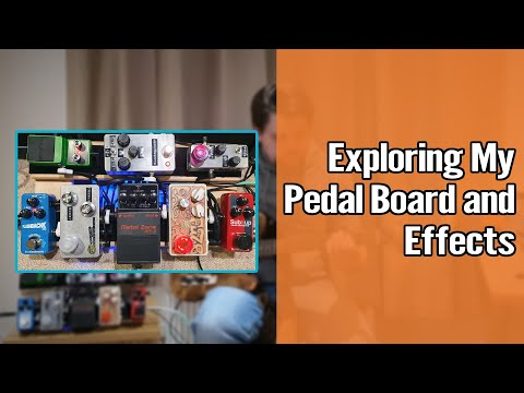 My Pedal Board Setup and Effects 1