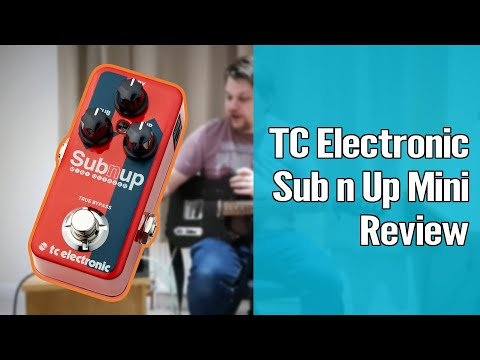 TC Electronic Sub n Up Mini Demo and Review 1