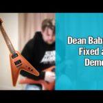 Dean Baby V Demo