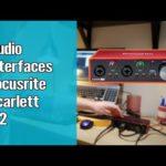 Audio Interfaces   Focusrite Scarlett 2i2