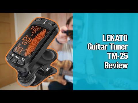 LEKATO Multi-Function Guitar Tuner TM 25 1