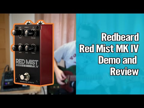 Redbeard Red Mist Mk IV Demo and Review 1