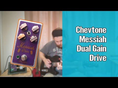 Chevtone Messiah Dual Gain Drive Demo and Review 1