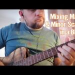 Mixing Major and Minor in a Blues