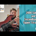2000 Subs and a Second Hand Squier (With Sound Now!)