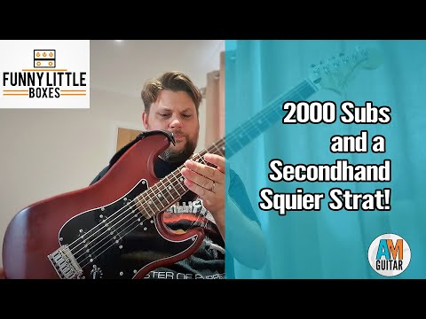 2000 Subs and a Second Hand Squier (With Sound Now!) 1