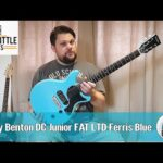 Harley Benton DC Junior FAT LTD Ferris Blue