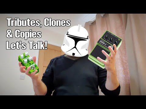 Pedal Tributes, Clones and Copies - A Discussion 1
