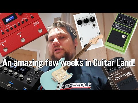 Nobels, Boss, JHS, Fender   What a Couple of Weeks for Guitar! 1
