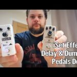 iSet Effects Delay and Dumbler Pedals