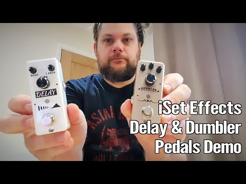 iSet Effects Delay and Dumbler Pedals 1