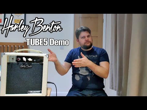 Harley Benton TUBE5 All Tube Amplifier Demo 1