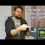 Using a Boss PH 3 Phaser with an Expression Pedal