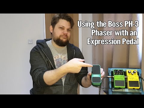 Using a Boss PH 3 Phaser with an Expression Pedal 1