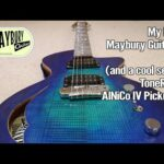 My New Maybury Guitar And ToneRider AlNiCo IV Pickups
