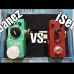 Affordable Overdrive Fight  - iSet vs Ibanez