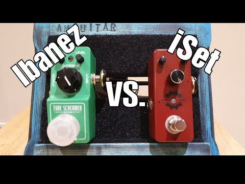 Affordable Overdrive Fight  - iSet vs Ibanez 1