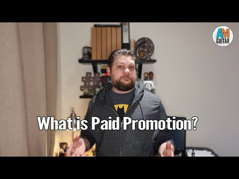 What paid promotion means and more 1