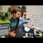 Maxon SD-9 Sonic Distortion Demo and Review