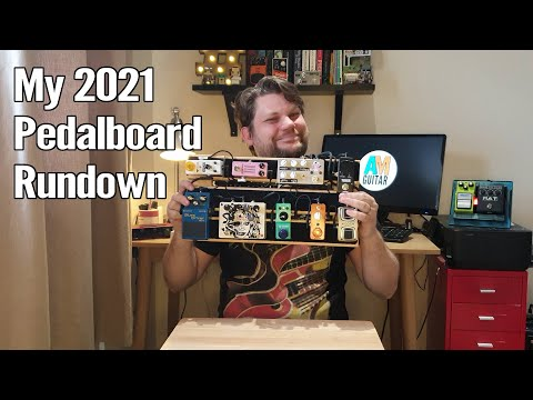 My Pedal Board 2021 1