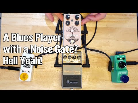 Using a Noise Gate with a Built in FX Loop 1