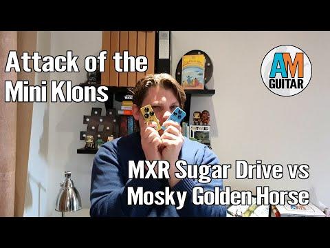 Mini Klon Wars MXR Sugar Drive vs Mosky Golden Horse 1