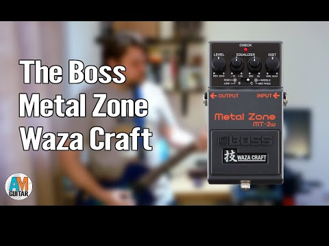 Boss Metal Zone Waza (MT-2w) Demo 1