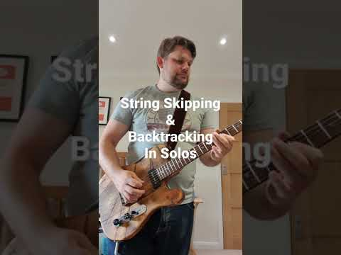 String Skipping & Backtracking in guitar solos 1