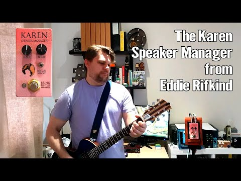 The Karen Speaker Manager from Eddie Rifkind 1