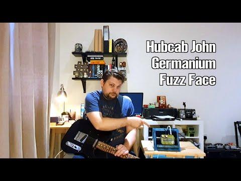Hubcab John Germanium Fuzz Face Demo 1