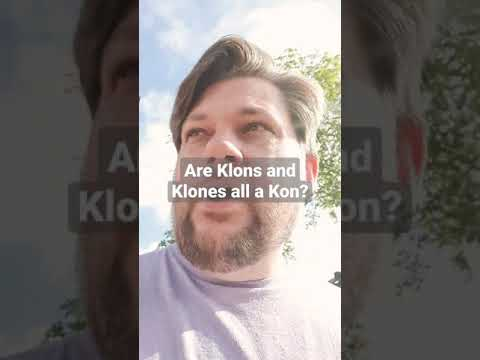 Are Klons and Klones all a Kon? 1